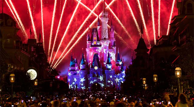 Catch a Special Virtual Viewing of Disney's July 4th Fireworks Show!
