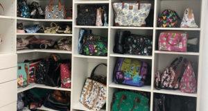 Photo Tour of my Disney Dooney and Bourke Purse Dream Closet (Part 1)