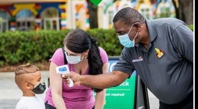 Legoland Florida Will Now Require Masks