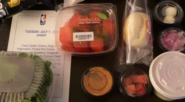 NBA Releases Statement on Horrible Meals Inside Disney Bubble