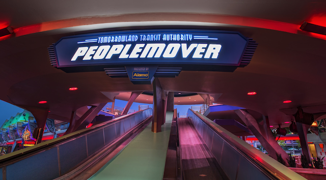 Status of Tomorrowland Transit Authority PeopleMover Changed
