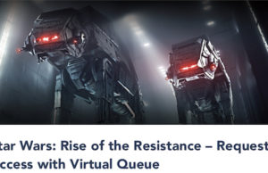 NEWS: My Disney Experience Offers New Features for Rise of the Resistance