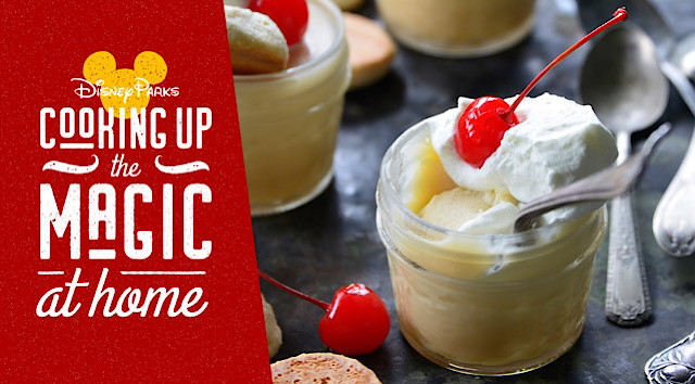 White Chocolate Budino Recipe From Disney Park's Latest Cookbook
