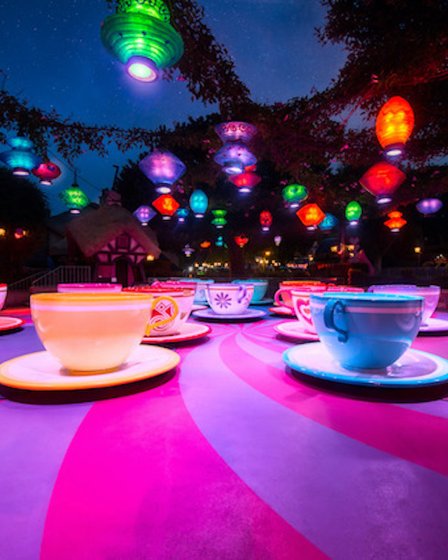 Vertical Tea Cups