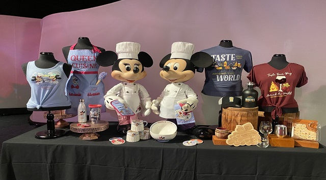 New Epcot Food and Wine Festival Merchandise Coming Soon to Epcot!