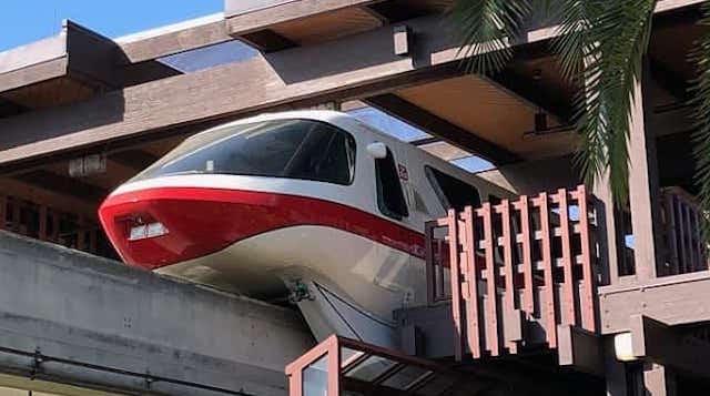 Monorail at Disney's Polynesian Village Resort to Close due to Refurbishment
