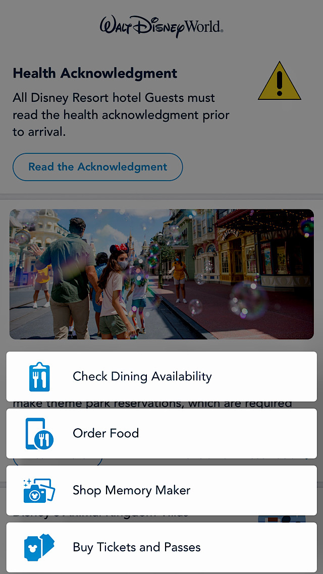 disney table service mobile order