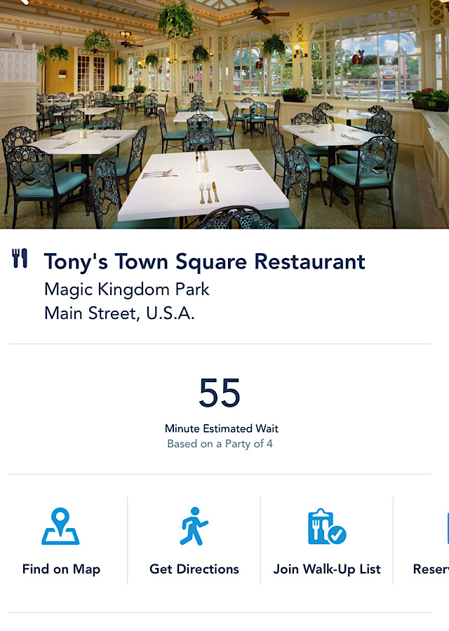 Disney Expands Mobile Dining Ordering