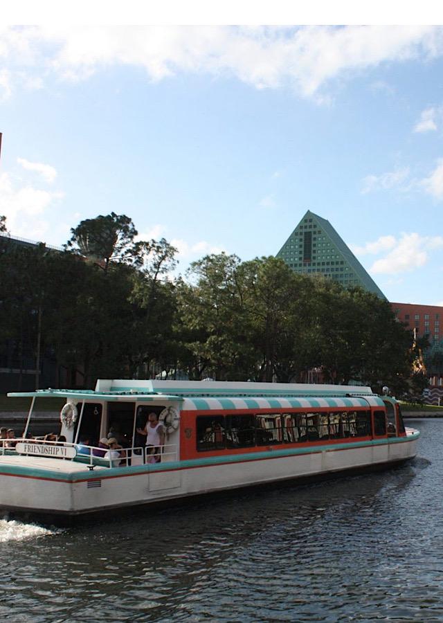 Disney friendship boats