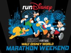 More Information Released About the 2021 Virtual WDW Marathon Weekend