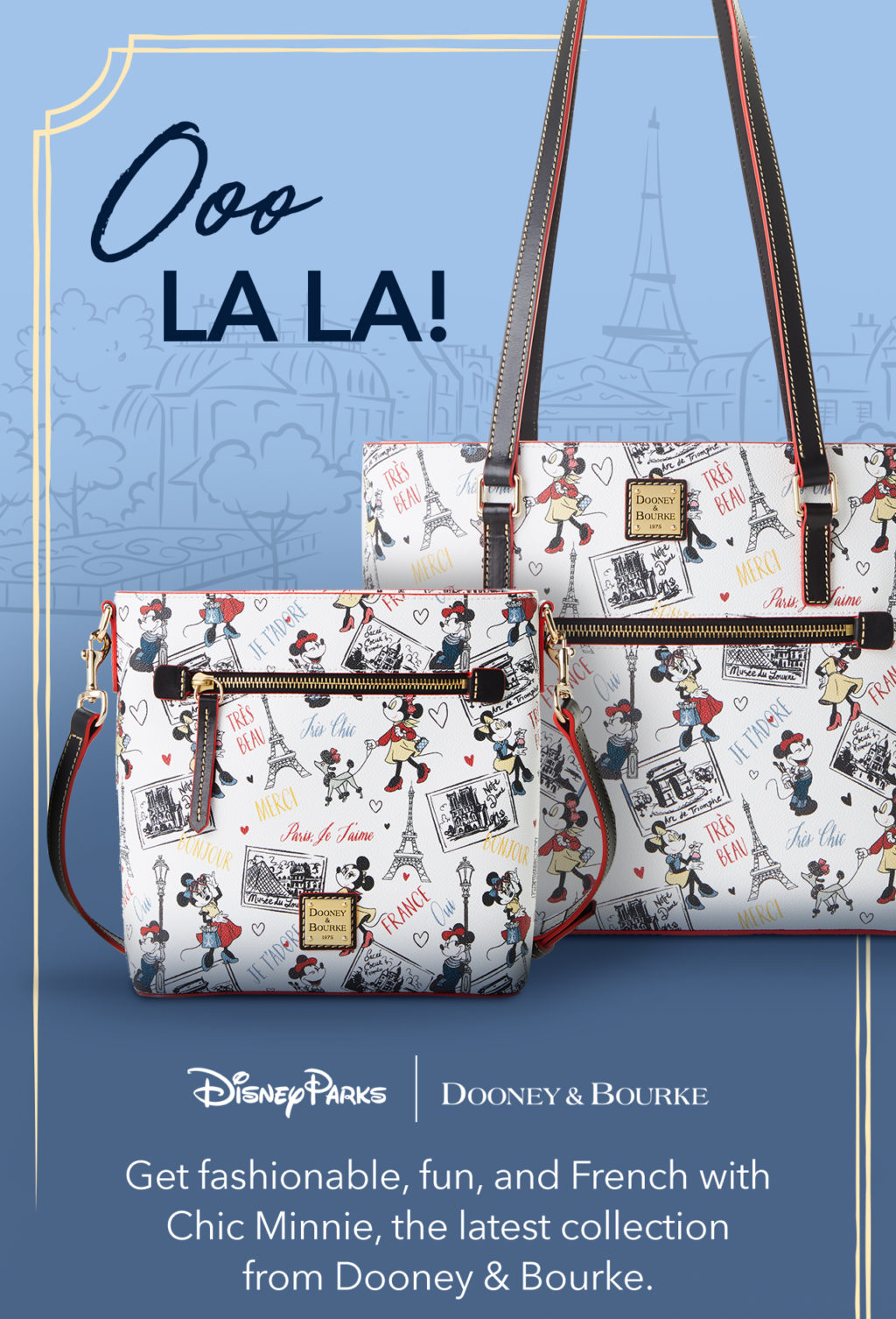 """New """"Très Chic"""" Dooney collection released today!"""