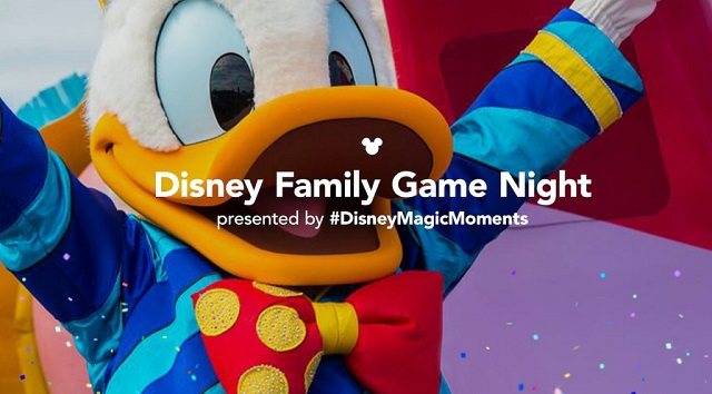 Get Ready for Disney Family Game Night!