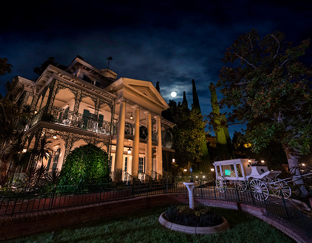 Disneyland Haunted Mansion around the world
