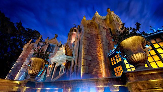 Disney Haunted Mansion around the world