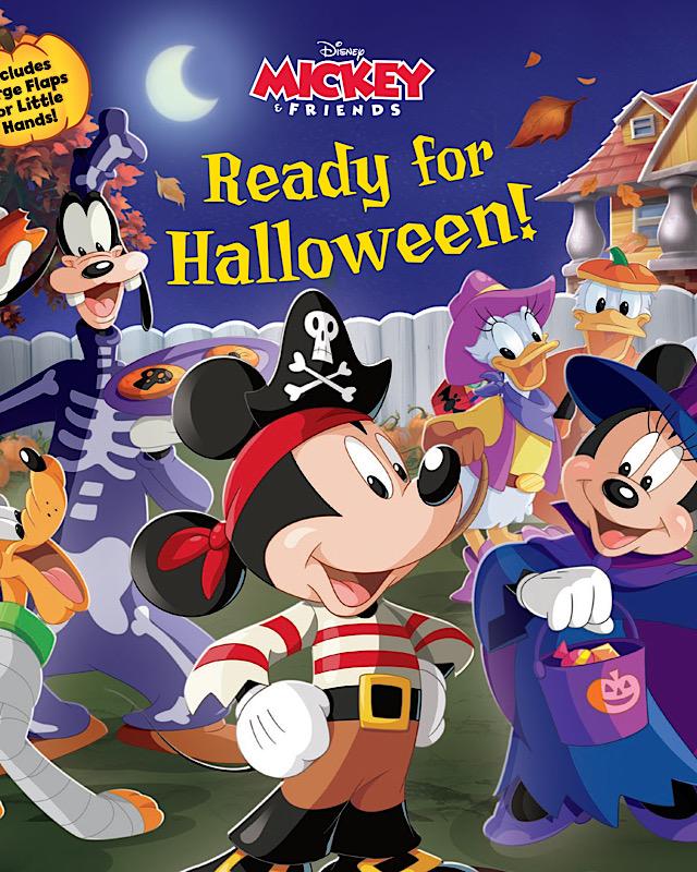 Disney Spooky Halloween books