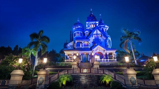 Mystic Manor disneyland hong kong around the world