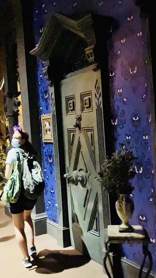 Haunted Mansion Walking Out With Lights On