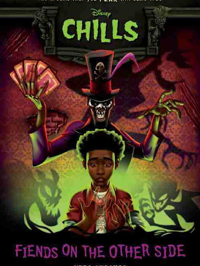 disney spooky books