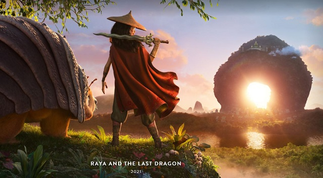 Disney Releases NEW Raya and the Last Dragon Trailer