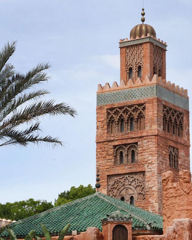 Disney Taking Over Morocco Pavilion
