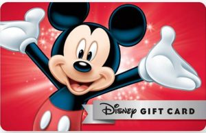 Limited Time Savings on Disney Gift Cards