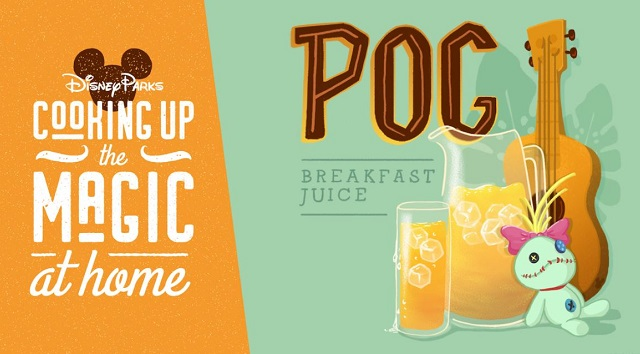 Disney posts a new Recipe for fan favorite POG Juice