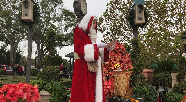 Revisiting The World Showcase And The Customs Of Christmas: France