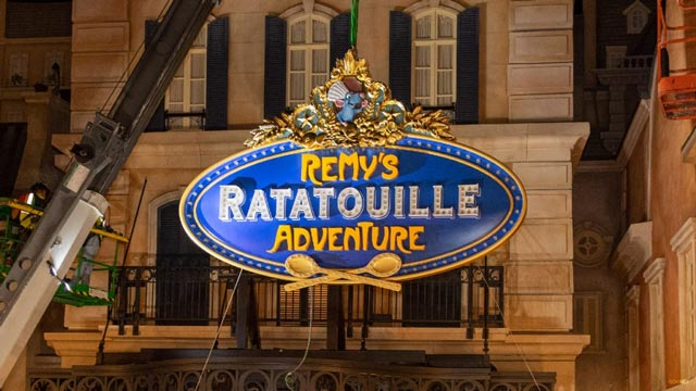 Video: Filming Taking Place at Remy's Ratatouille Adventure in EPCOT