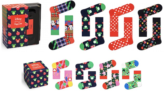 Disney and Happy Socks Launch a New Holiday Collab!