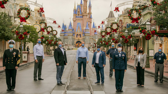 Disney Honors Veterans Today in Honor of Veteran's Day