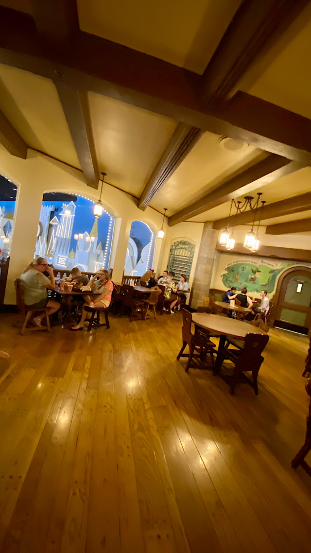 pinocchio village haus dining view
