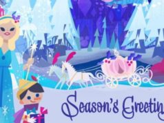 Now you Can Print a Last Minute Disney Holiday Card