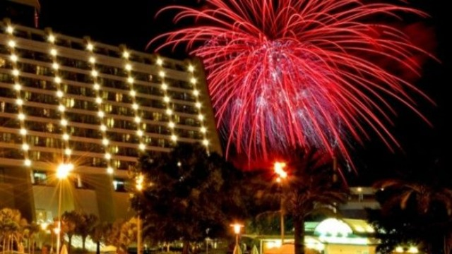 See Disney New Years Fireworks Tonight!