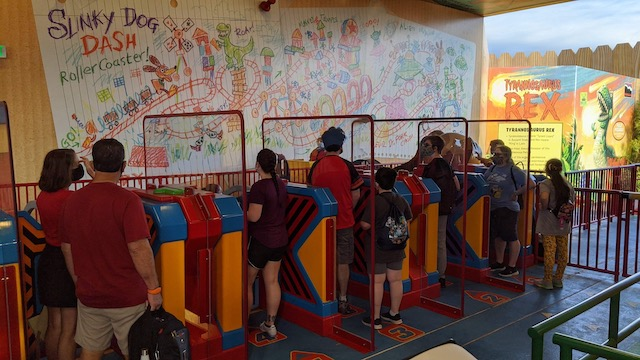 Photos: More Disney World attractions removed physical distancing on ride vehicles