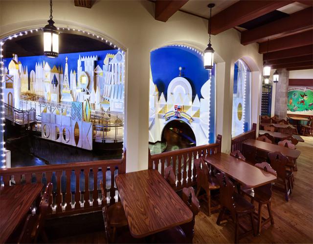 pinocchio village haus dining view