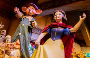Check out the new look and name for Disneyland's Snow White's Scary Adventures