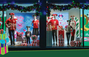 Holiday Window Displays at Walt Disney World Resort