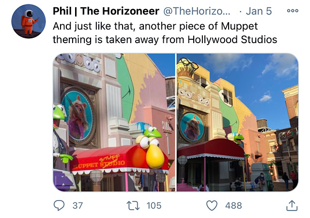 New: Disney is Removing Another Beloved Location at Hollywood Studios