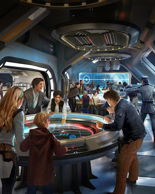 Check out Disney World's New Sneak Peak to Star Wars: Galactic Starcruiser Hotel