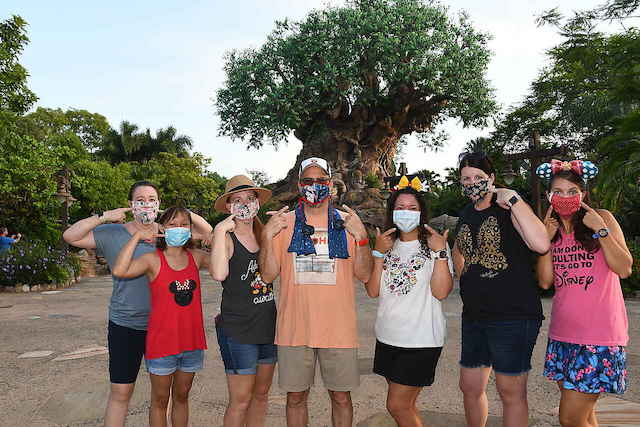 Can you skip the face mask in Disney World if you have been vaccinated?