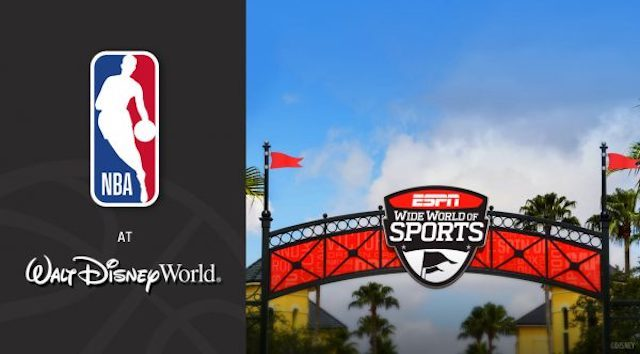 Dates Announced for the New NBA Schedule at Disney World