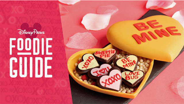 Disney Parks New Foodie Guide to Valentine's Treats and Meals