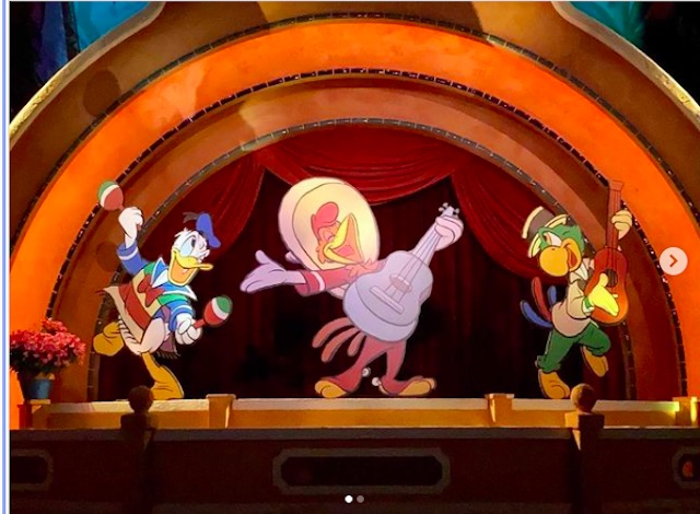 3 Caballeros are now cardboard cutouts