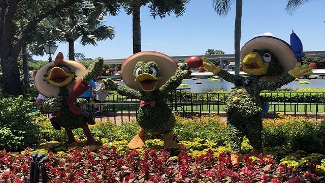 New List of Gardens and Topiaries Coming to 2021 EPCOT Flower and Garden Festival