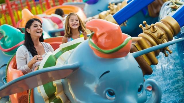 Soar Back in time: Dumbo the Flying Elephant