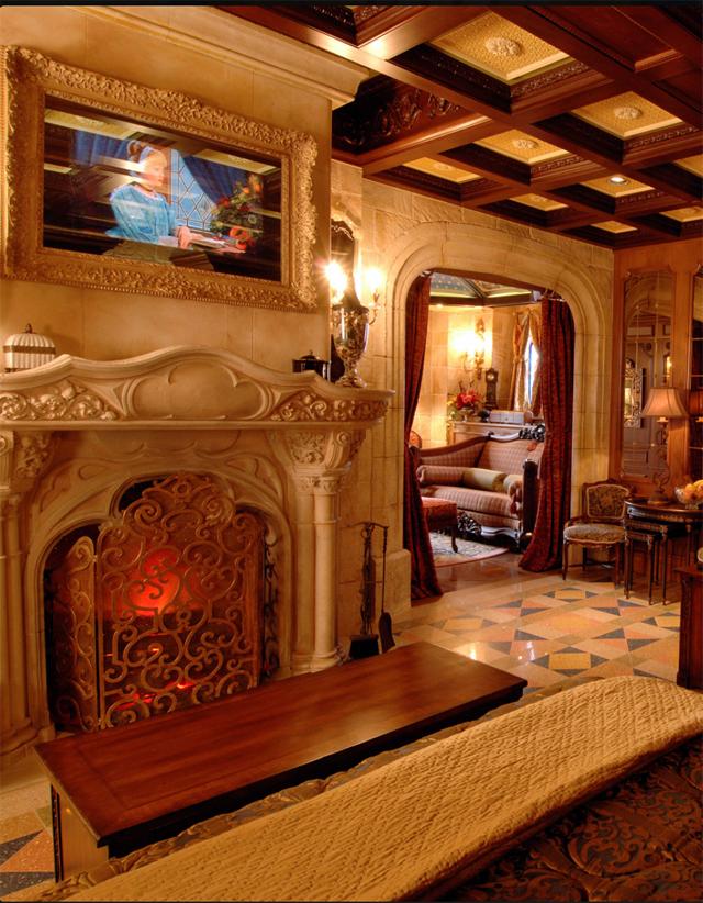 exclusive video cinderella castle suite