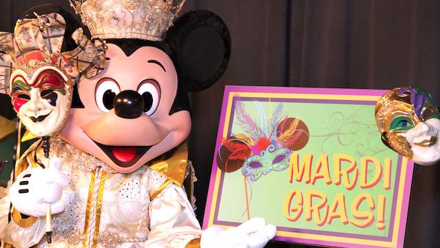 Check Out this Special Mardi Gras Menu Item at Disney World!