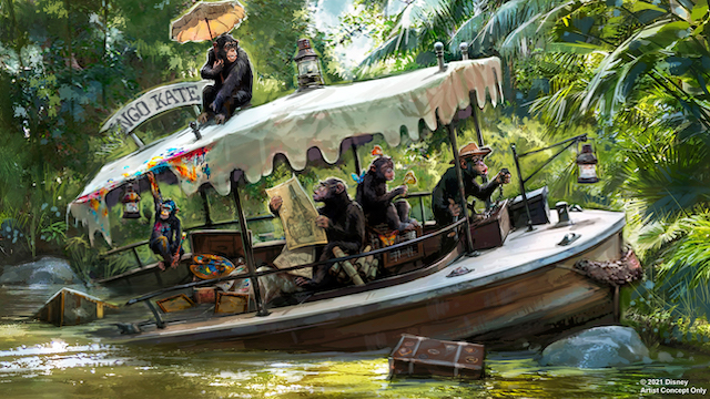 BREAKING NEWS: Jungle Cruise will be re-themed at Disney World and Disneyland!