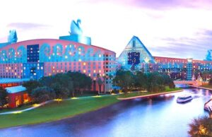Is Disney's Swan and Dolphin Resort just as magical as a Disney Resort?