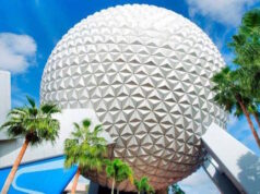 Check out the music playlist for EPCOT's new entrance
